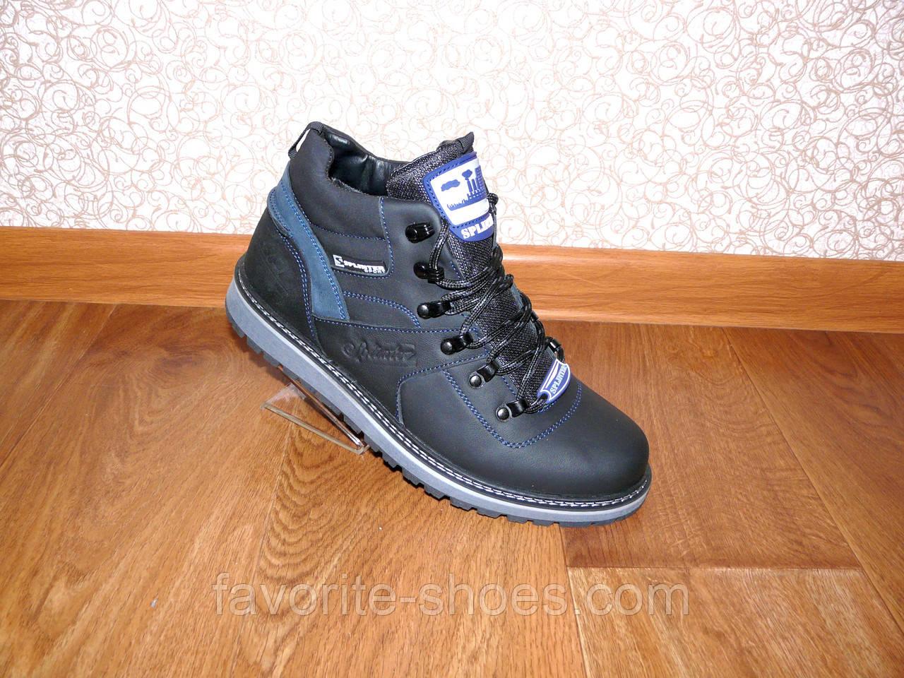 Зимние мужские кожаные ботинки Splinter 06