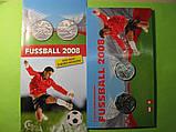 Австрия 2 Х 5 евро 2008 г. серебро Чемпионат Европы по футболу., фото 3