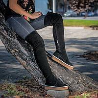 Женская обувь. Индивидуальный пошив. Ботфорты 82076. Пошив на любою голень
