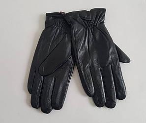 Подростковые кожаные перчатки утеплитель махра