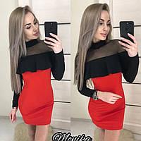 Платье с гипюровыми рюшами в Украине. Сравнить цены, купить ... 6640320696a