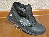 Зимние мужские кожаные кроссовки NB New Balance
