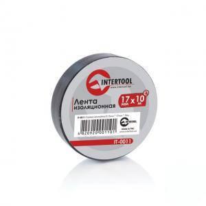 Лента изоляционная Intertool 0,15 мм х 17 мм х 10 м, черная (арт. IT-0011)
