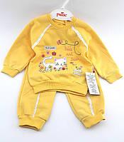 Костюм детский для новорожденных 6, 9, 12, 18 месяцев на байке Турция оптом