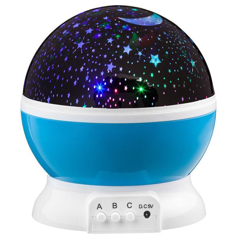 Ночник проектор звездного неба вращающийся Star Master