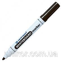Маркер для сухостираемых досок, 2.5 мм., черный. CENTROPEN