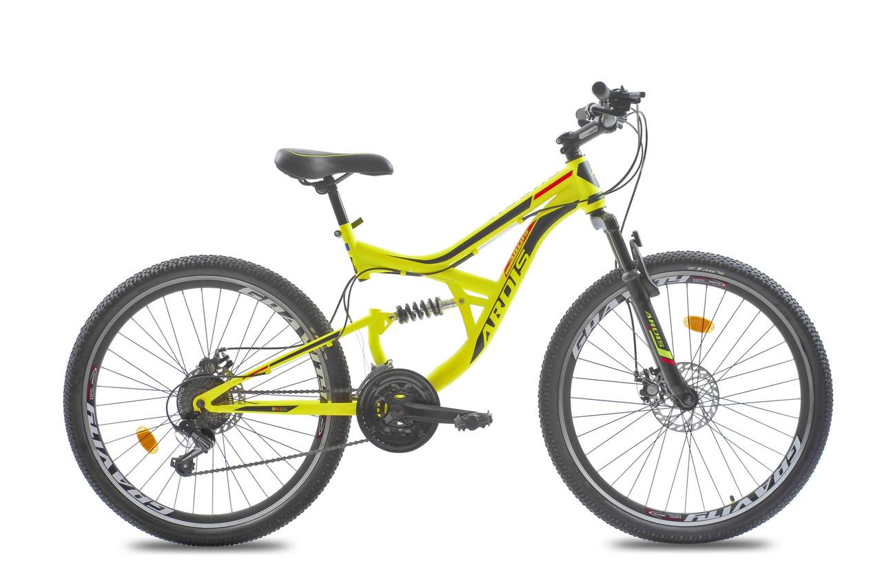 """Горный велосипед ARDIS BUGGY 26"""" 17""""  Желтый"""