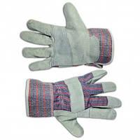 Перчатки рабочие замшевые желтые, Technics (16-151)