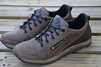 Кроссовки мужские Columbia кожаные коричневые