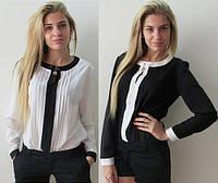 Женская блуза 2 цвета оптом D6684