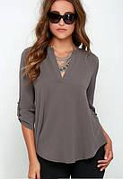 Женская стильная блузка оптом D6685