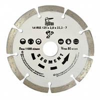 """Алмазный диск по бетону, камню, """"SEGMENT"""" 125 мм, Spitce (22-801)"""