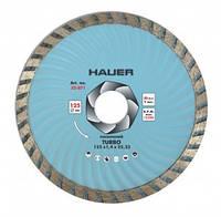 """Алмазный диск усиленный """"TURBO"""" 230 мм, Hauer (22-873)"""