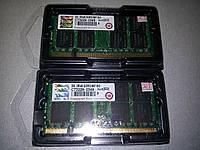 Transcend DDR2 2Gb 5300 667Мгц 2G SODIMM для ноутбука