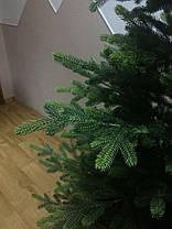 Искусственная елка литая ПРЕМИУМ Жозефина зеленая 1.20 - 2.70 метра , фото 3