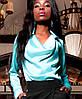 Женская красивая шелковая блузка (Кантилиjd), фото 6