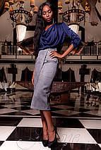 Женская красивая шелковая блузка (Кантилиjd), фото 3