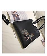 Женская сумочка с рисунком AL7377