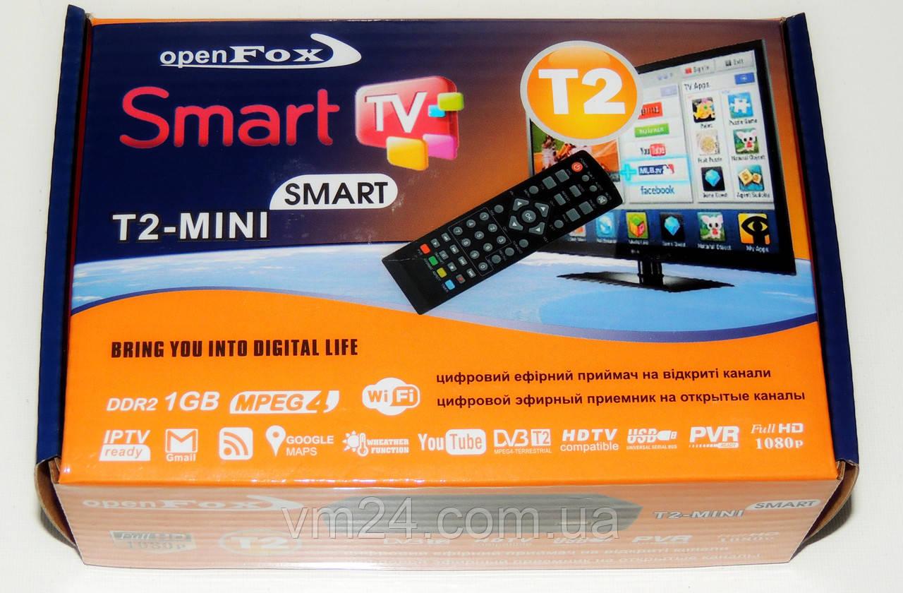 цифровой эфирный ресивер т2 Openfox T2 Mini Smart Youtube Gmail