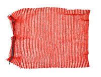 Сетка-мешок для упаковки лука с завязкой, красная, 40х60 см, до 20 кг,, Украина (69-220)