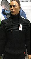 Теплые турецкие зимние мужские свитера