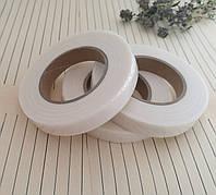 Флористическая лента, белая, 1 см