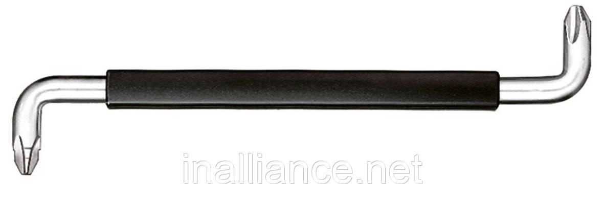 Вигнута викрутка PH2 PH3 з ручкою Wiha 04455