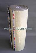Полотно физически сшитое (ППЭ тейп) самоклеющееся 4 мм (Белый, серый, на пленке)