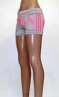 Шорты спортивные женские Стрелки (светло-серые)