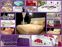Наматрасники, покрывала, одеяла, подушки