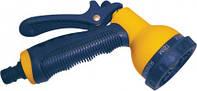 Пистолет-распылитель 7-позиционный пластиковый регулируемый Verano (72-007)