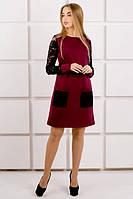 Сукня Кенді (бордовий), фото 1