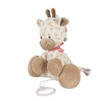 Nattou Мягкая игрушка с музыкой жираф Шарлота 28см