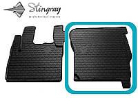 DAF CF 2000-2013 Передний правый коврик Черный в салон