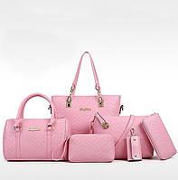 Набор сумок AL7537 розовый