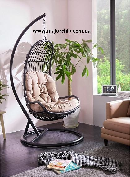 Подвесное кресло кокон из ротанга Легато + ПОДАРОК