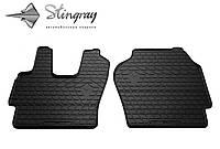 Резиновые коврики Stingray Стингрей SCANIA P 2004-2011 Комплект из 2-х ковриков Черный в салон. Доставка по всей Украине. Оплата при получении