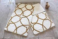 Набор ковриков (для ванной и туалета) №9056