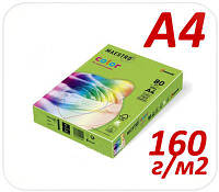 Цветная бумага пастель Maestro Color 28 medium green А4 160г/м2