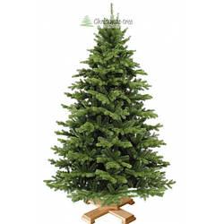 """Елка """"Еловый лес"""" на деревянной подставке + гирлянда в подарок"""