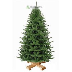 """Елка """"Альпийское рождество"""" на деревянной подставке + гирлянда в подарок"""