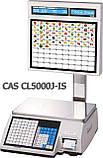 Ваги торгові CAS CL5000J-IS 15 кг з термодруком, фото 2