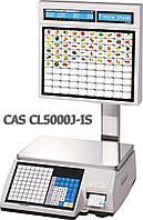 Весы торговые CAS CL5000J-IS 15 кг с термопечатью