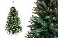 """Елка """"Оливковая натуральная"""" на пластиковой подставке + гирлянда в подарок 250 см + гирлянда в подарок"""