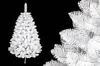 """Сосна """"Белоснежная"""" на пластиковой подставке + гирлянда в подарок 220 см + гирлянда в подарок"""