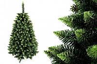"""Сосна """"Зеленая гора"""" на пластиковой подставке + гирлянда в подарок 180 см + гирлянда в подарок"""