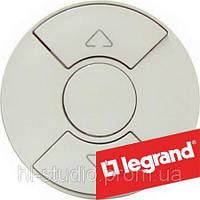 Legrand Celiane Лицевая панель для механизма управления приводом рольставней/штор/тента, слоновая кость