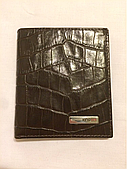 Мужской маленький кожаный кошелёк Karya 10/9 см