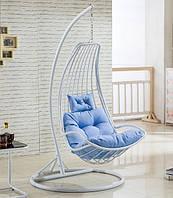Подвесное кресло кокон из ротанга Дели + ПОДАРОК