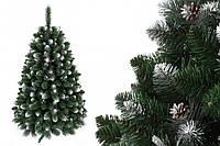 """Сосна """"Сибирская"""" на пластиковой подставке + гирлянда в подарок 220 см + гирлянда в подарок"""